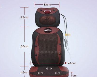 Đệm massage toàn thân hồng ngoại Sapporo 323 - 3 mảnh