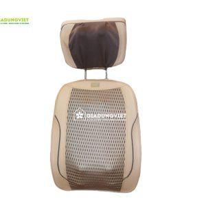 Đệm massage toàn thân hồng ngoại Sapproro 6D (20 bi) -2018