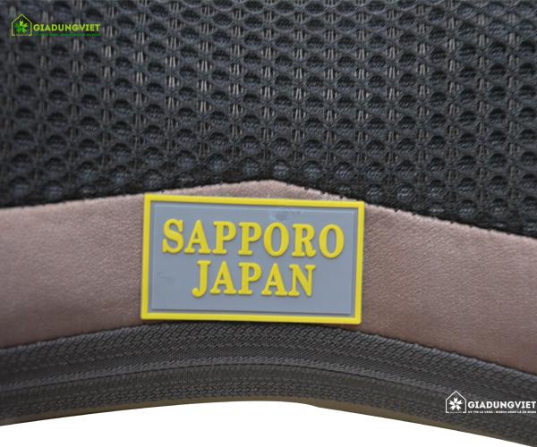 Gối massage hồng ngoại PIN SẠC Sapporo 8 bi