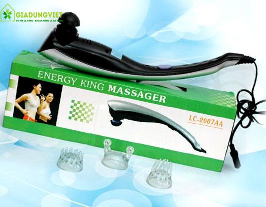 Máy massage cầm tay 3 đầu Energy King LC-2007AA