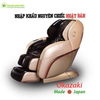 Ghế massage toàn thân Okazaki 999