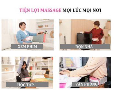 Đai massage bụng Ayosun AYS-688T3 tiện lợi mọi nơi