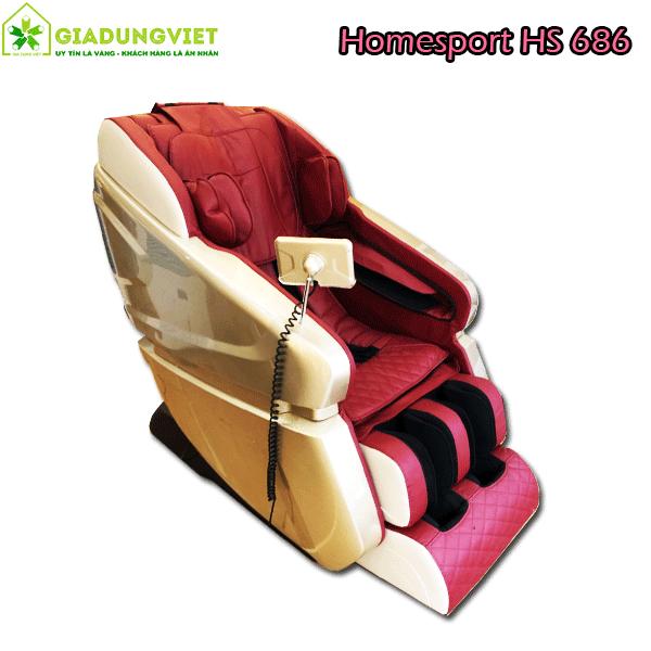 ghế massage toàn thân Homesport HS 686 Nhật Bản