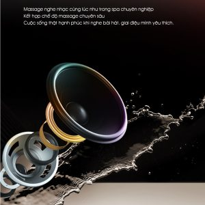ghế massage toàn thân Panasonic EP-MA73F loa nghe Bluetooth