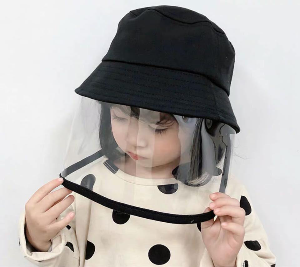 nón chống dịch cho trẻ em