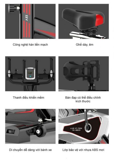 Điều chỉnh tay cầm xe đạp tập thể dục Ayosun AYS-885X2