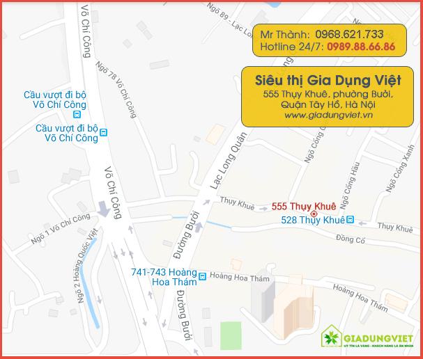 địa chỉ Gia Dụng Việt 555 Thụy Khuê