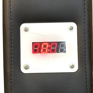 Hiển thị thời gian ghế massage kinh doanh Saporoo 6803
