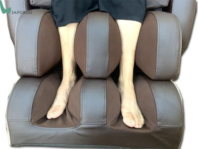 ghế massage Nhật Bản Saporoo 6800 túi khí bắp chân
