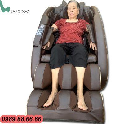 ghế massage Nhật Bản Saporoo 6800 giá rẻ