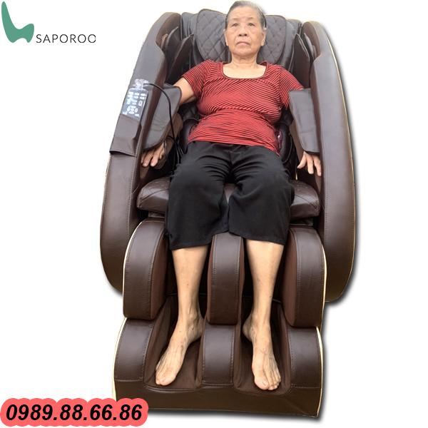 ghế massage Nhật Bản Saporoo 6800 nhập khẩu