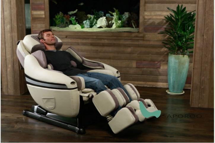 Sử dụng ghế massage