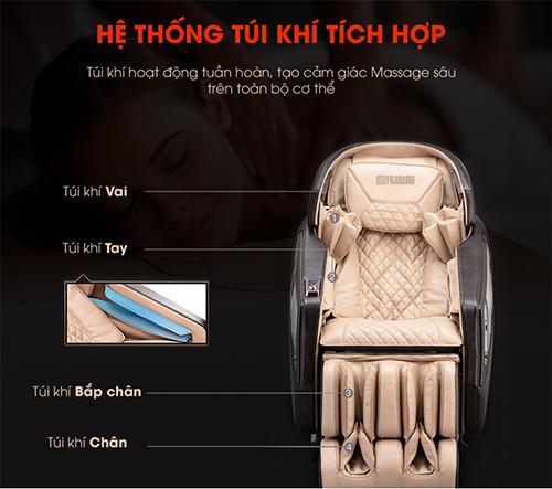 Bật mí 5 công dụng kì diệu của ghế massage fujikima c808 hiện đại nhất
