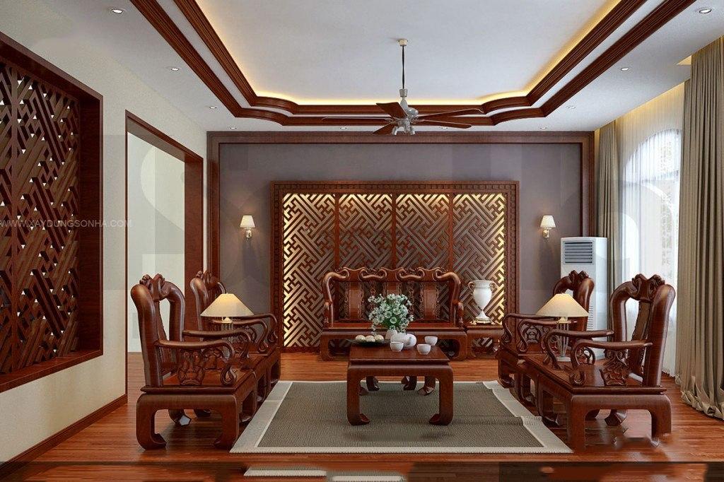 Đồ gỗ nội thất đẹp phòng khách