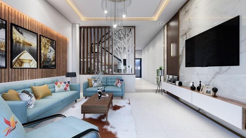 Nội thất phòng khách đẹp 2020