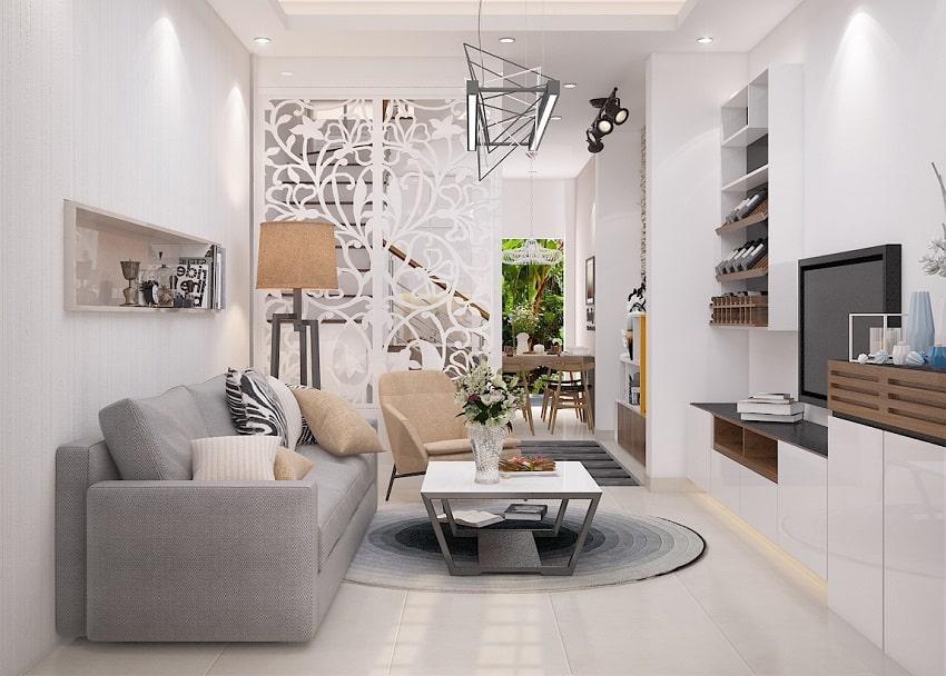 Những mẫu phòng khách đẹp cho nhà nhỏ